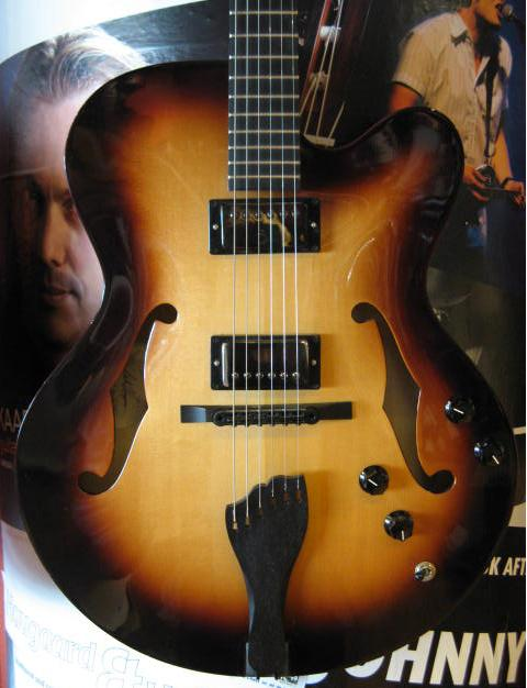 Martin Cf2 Archtop Guitar Sunburst 3 500 Guitar